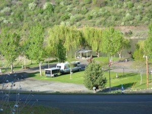 Swiftwater RV Park is located on the banks of the Salmon River in White Bird Idaho -  North Central Idaho Region