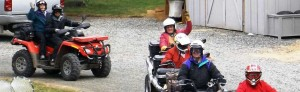 ATV recreation from Swiftwater RV takes you to the backcountry on well traveled gravel roads.