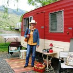Vintage Trailers on the Salmon River